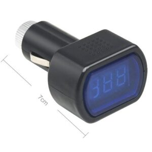 voltmeter do auta rozmery