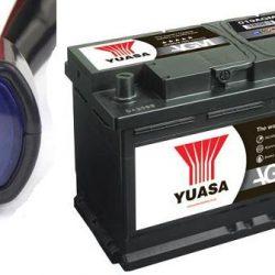voltmeter na autobatériu