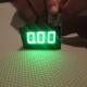 Ampermeter zeleny 0-10A