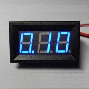 digitalny ampermetermodry0-10A