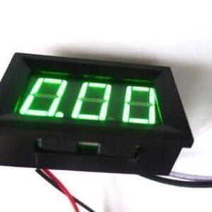 zelený ampermeter do 10 A