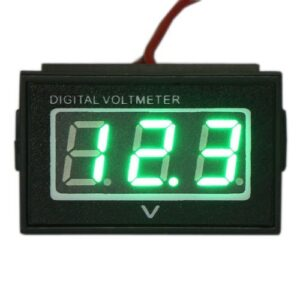 zeleny_vodotesny_voltmeter