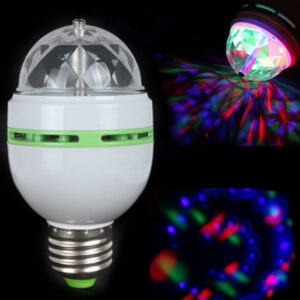 disco žiarovka rotujúca