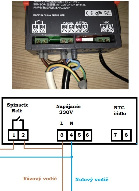 termostat zapojenie schema2