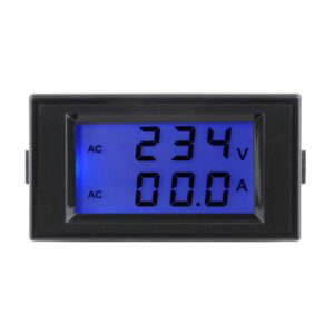 ampermeter čierny