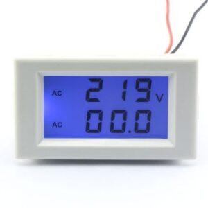 voltmeter ampermeter na striedave napetie