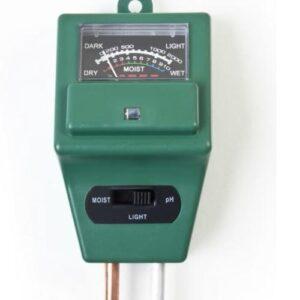 merač pôdy na rastlinky