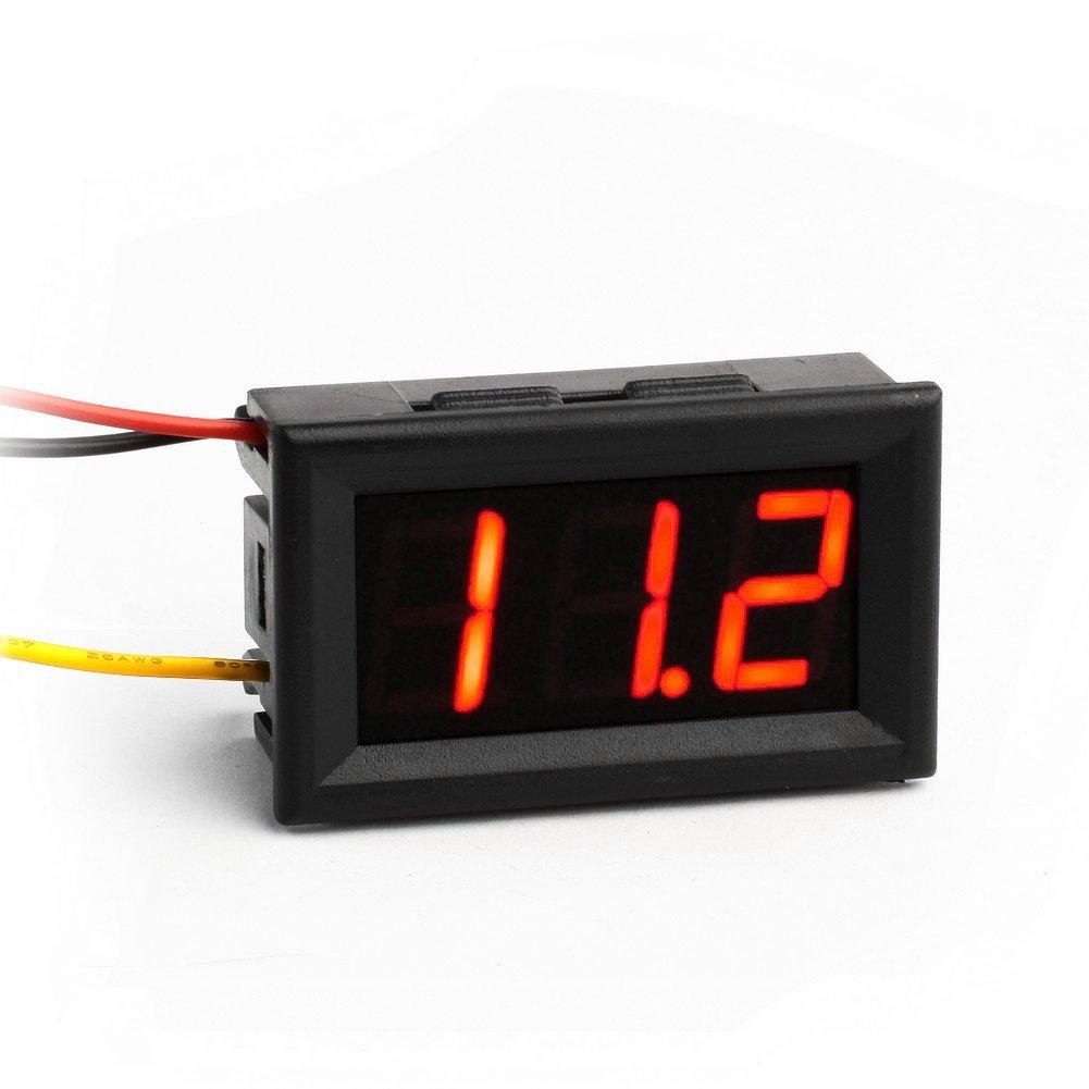 Voltmeter Červený 0 - 100 V