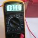 meranie napätia multimeter_sondy