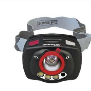 Čelovka na 3x AAA, 1+2 LED, IR čidlo+fokus rybolov_polovnicto