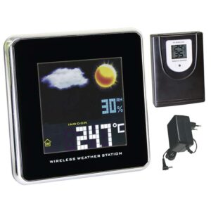 LCD domáca bezdrôtová meteostanica W237-3 farebná