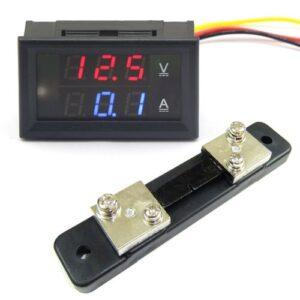 voltmeter-ampermeter-50A-kalibrovatelny