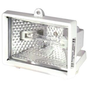 150W Halogénový reflektor biely zarucene