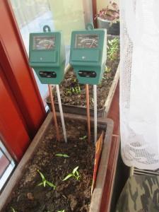 meranie vlhkosti v pôde
