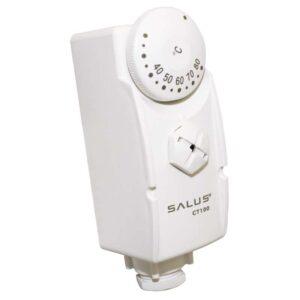 biely termostat AT10 na čerpadlá, kotle, ventily