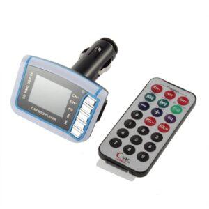 Mp3 transmiter do auta- prehravanie mp3 v radiu
