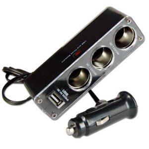 USB nabijanie rozdelovač do cigaretoveho zapalovač