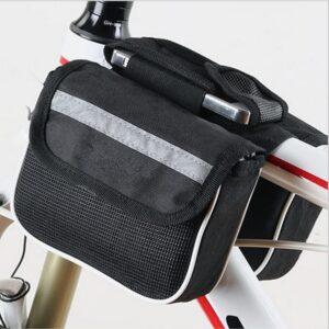 dvojita taška na bicykel stredova tyč
