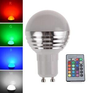 LED rgb s ovladacom ziarovka predaj cena