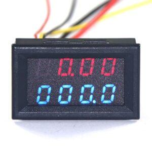 Voltmeter ampermeter 4v1 watmeter teplomer