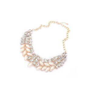 nahrdelnik s umelymi perlami