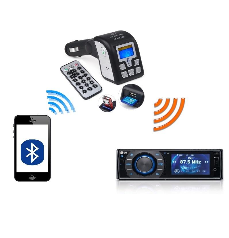 bluetooth transmitter princip činnosti