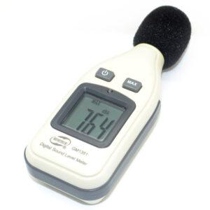 digitalny merac hluku