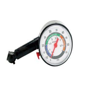 merac tlaku v pneumatikách