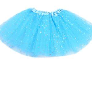 doly tutu suknicka s trblietkami modra