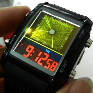 top obrazok hodinky LED