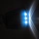 svietivost led solarnej modrej klucenky