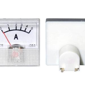 mini analógový ampermeter