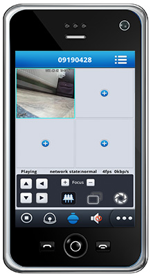 Monitorovací systém v mobile