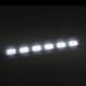 ako svieti LED cob v aute