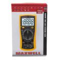 maxwell multimeter meranie kondenzatorov