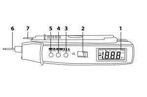 multimeter a skúšačka v jednom led svietidlo